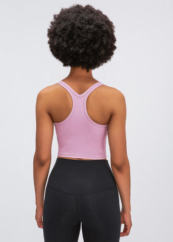 Allure bra top- pink