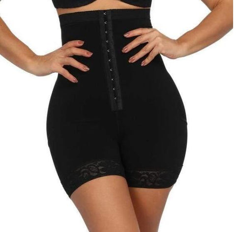Image of 'Quick-fix' High waist mid thigh tummy girdle body shaper