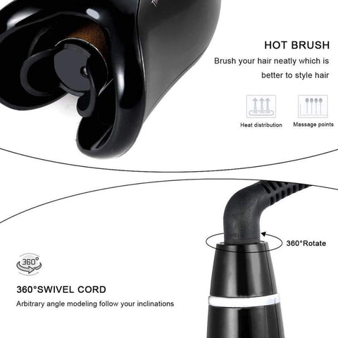 Air spin N curl hair curler