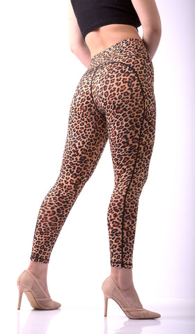 Image of GNT Leggings - Sahara leopard