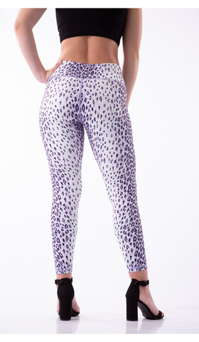 GNT Leggings - white leopard