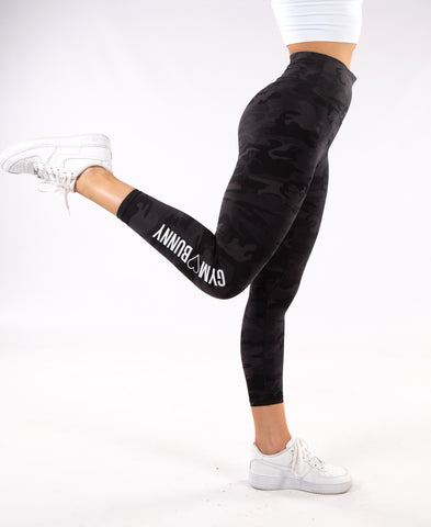 Image of Gym Bunny Animal instincts leggings  - Camo
