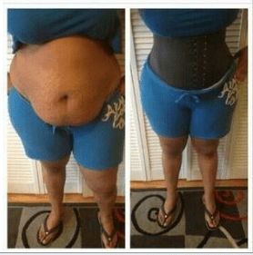 Image of The Celebrity Waist Trainer- black