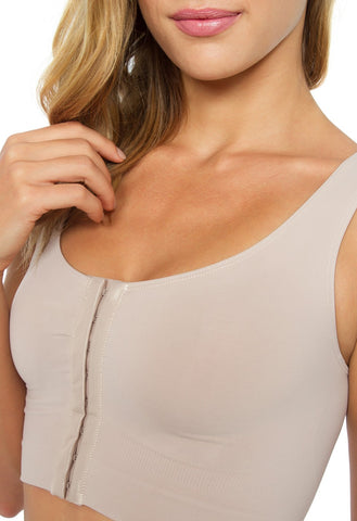 Image of Post Surgery Support Bra Vest Plié Shapewear