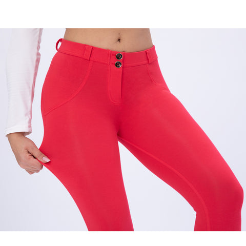 Butt lifting Jeggings - Corel red