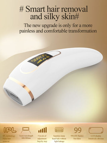 Image of IPL Painless Hair Remover