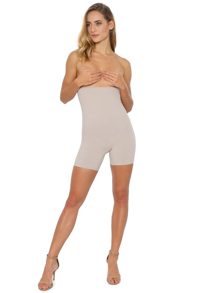 Sculpting abdominal boxer shorts anti-cellulite Plié Shapewear