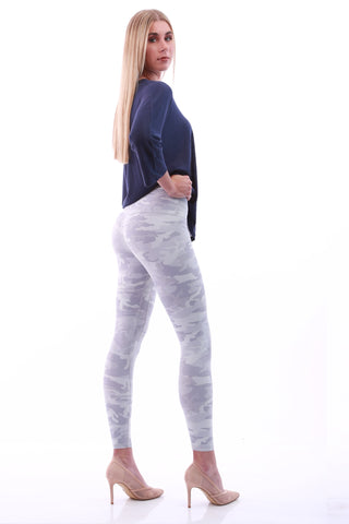 GNT Leggings -grey camo