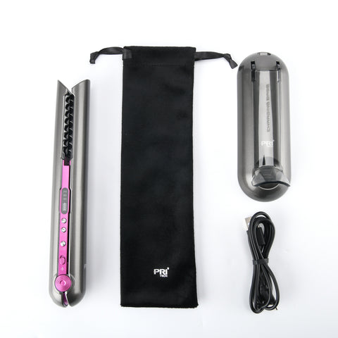Image of Cordless Hair Straightener Flat Iron Professional -Portable