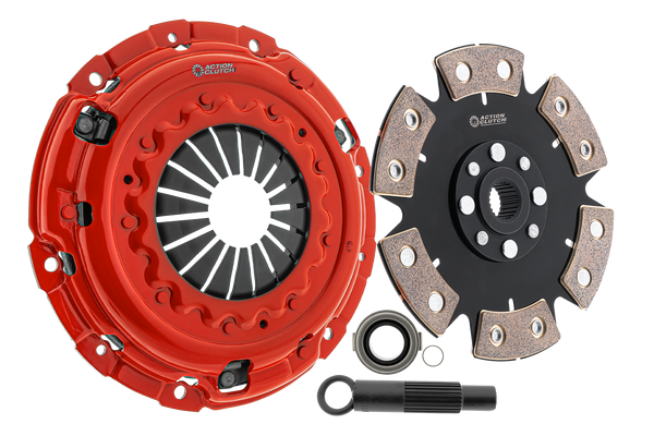 Stage 6 Mitsubishi Lancer 2008-2008 2.0L GTS incl. Concentric Slave Bearing - Action Clutch