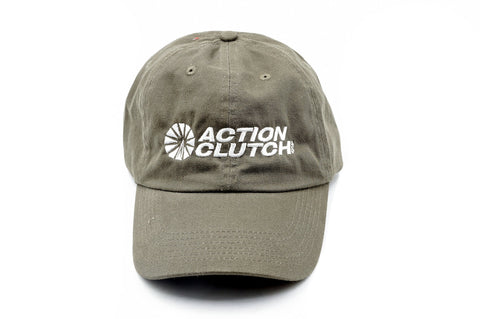 AC Racing Cap (OLIVE) - Action Clutch