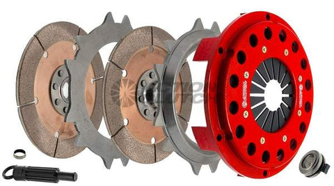 Action Clutch 7.25in Twin Disc Race Kit K series K20 K24 without Flywheel - Action Clutch