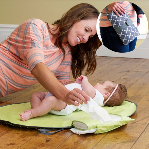 Waterproof Diaper Changing Clutch