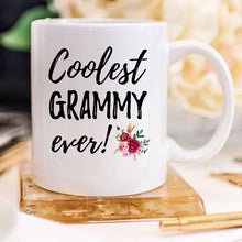 Load image into Gallery viewer, Coolest Grammy Ever Coffee Mug