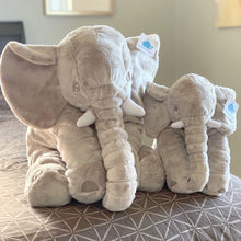 "Load image into Gallery viewer, ""Nelly"" the Comfy Stuffed Elephant"