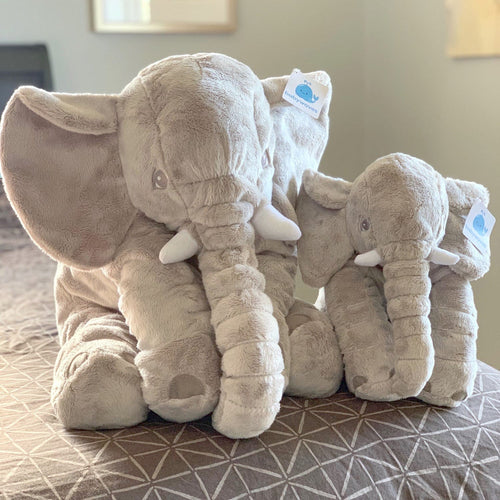 BabyWaves™ Comfy Elephant Pillow