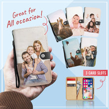 Load image into Gallery viewer, PERSONALIZED Family Wallet Phone Case
