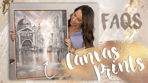 Canvas Prints Frequently Asked Questions