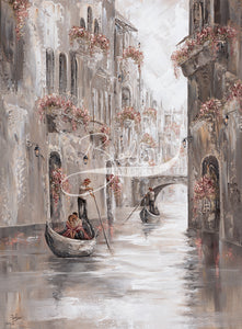 Cherished Moments, Venice Charm - Fine Art Print