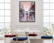 Load image into Gallery viewer, Chit Chat, Paris original wall art