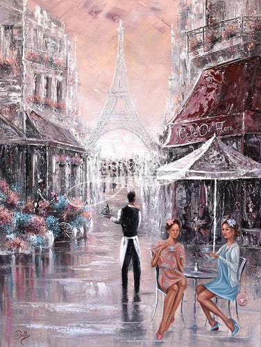 Chit Chat, paris, By Isabella Karolewicz