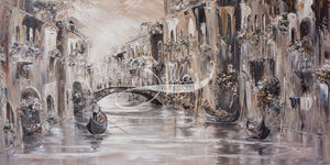 Drifting in Mystery, Venice Charm - Original Wall Art