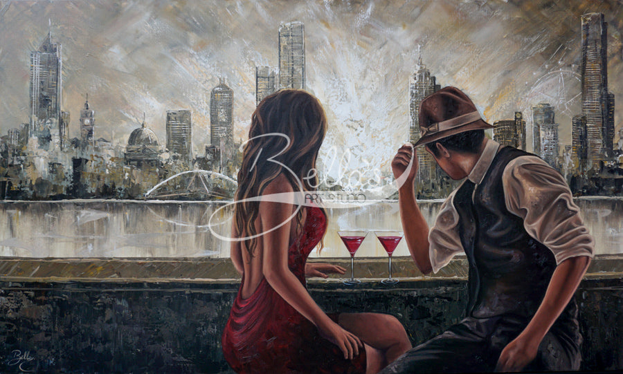 Drinks by the Yarra, by Isabella Karolewicz