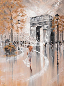 Paris Flair - Acrylic Glass Print