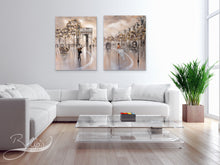 Load image into Gallery viewer, Framed Paris wall art for living room