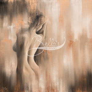Immersed, Original painting by Bella