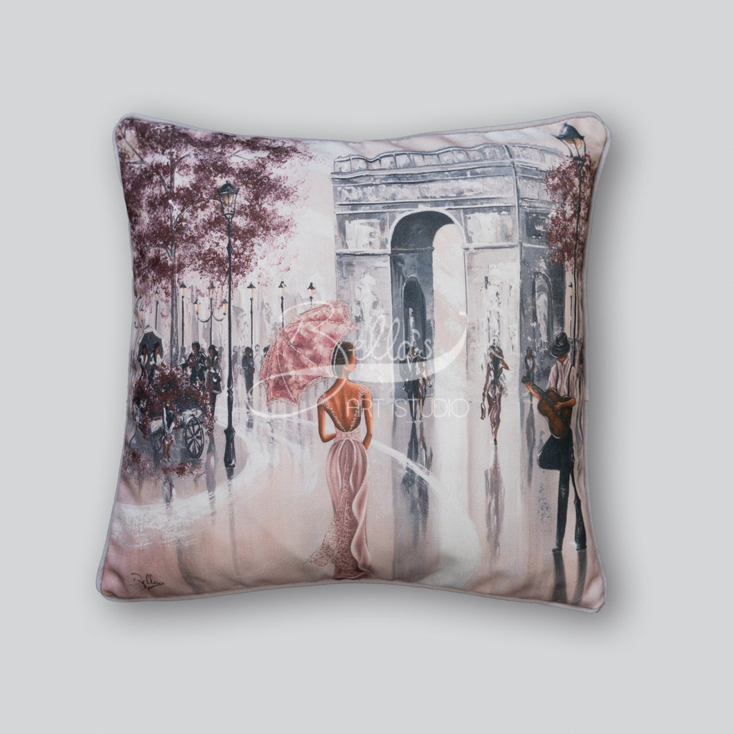 Glimpse, Paris Flair - Cushion