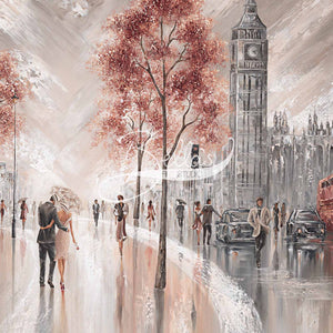 London Luxe - Acrylic Glass Print