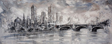 Load image into Gallery viewer, Melbourne Vibes Princess Bridge IV - original painting
