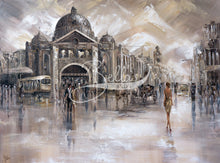 Load image into Gallery viewer, Melbourne Vibes, Flinders Station IX - Original Painting
