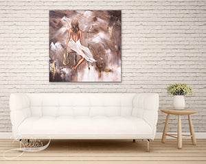 Mellifluous painting in lounge room