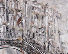 Load image into Gallery viewer, Close up of Venice Painting by Bella