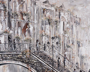 Close up of Venice Painting by Bella
