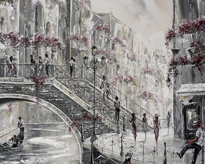 Venice Charm II Original painting by Bella