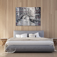 Load image into Gallery viewer, Venice Original wall art in Bedroom