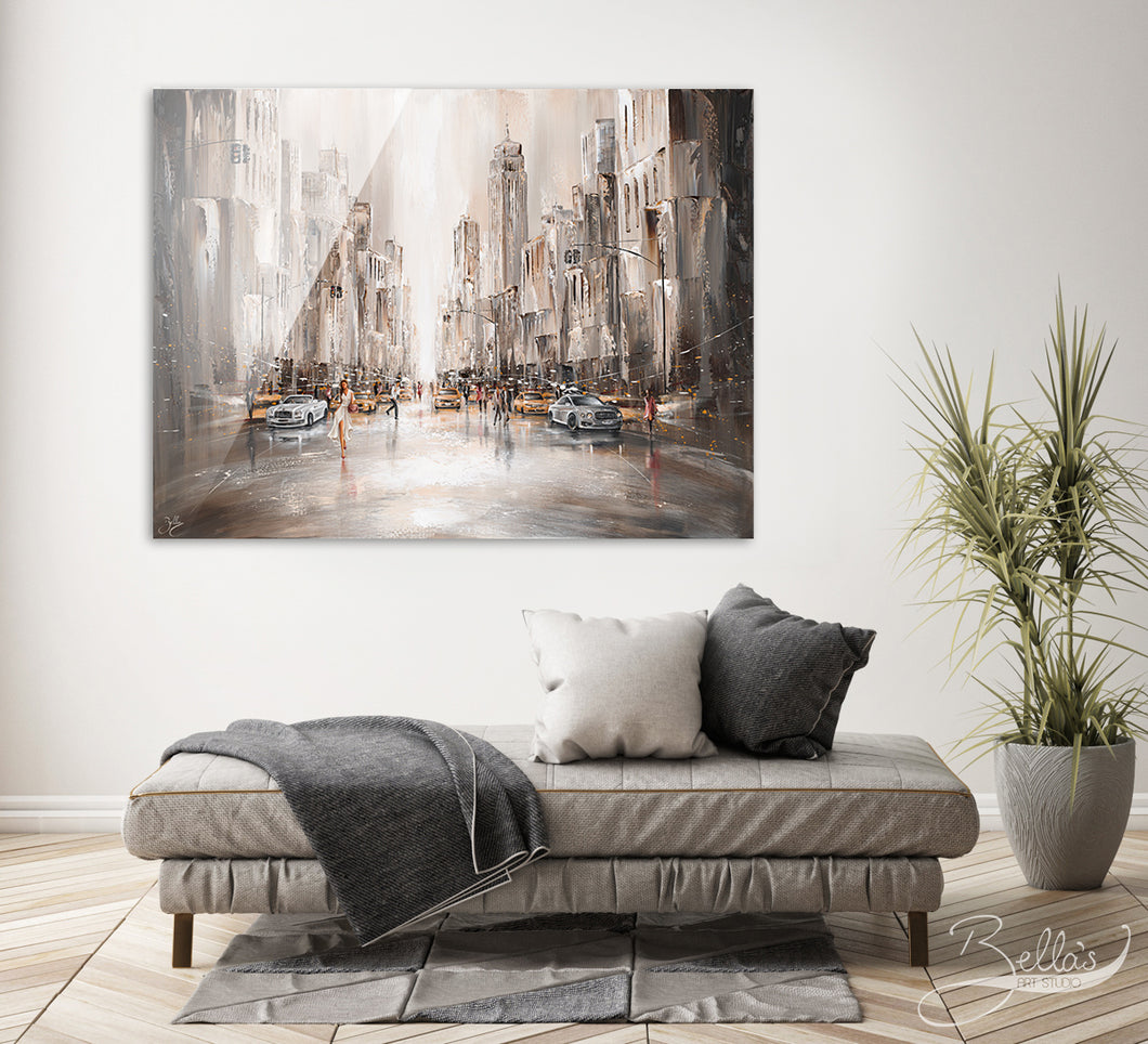 City Life - Acrylic Glass Print