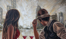 Load image into Gallery viewer, Drinks by the Yarra, Original wall art