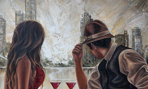 Drinks by the Yarra, Original wall art