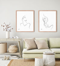 Load image into Gallery viewer, Breathe - Line Art Print
