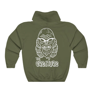 'The Creature' by Cosmo Cam Unisex Heavy Blend™ Hooded Sweatshirt