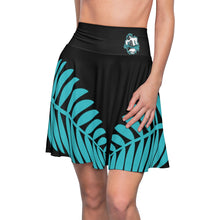Load image into Gallery viewer, Dancing Bear Palm Leaf Women's Skater Skirt by Cosmo Cam
