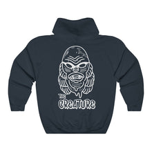 Load image into Gallery viewer, 'The Creature' by Cosmo Cam Unisex Heavy Blend™ Hooded Sweatshirt