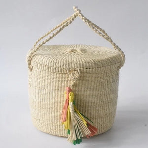 Cuenca Straw Basket