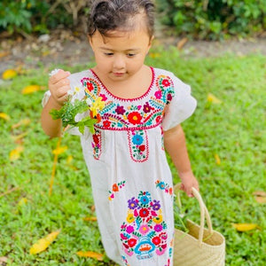 Primavera Embroidered dress for girl