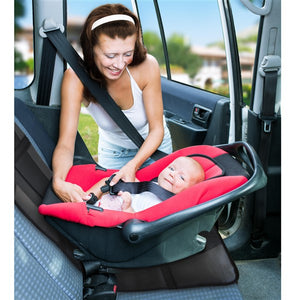 - Isofix Protects... Car Seat Protector Premium Royal Oxford Material