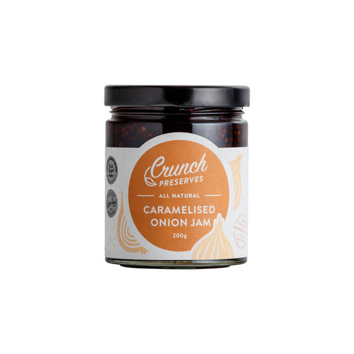 Crunch Preserves - Caramelised Onion Jam (200g)